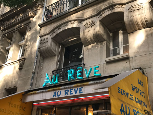 rêver = to dream