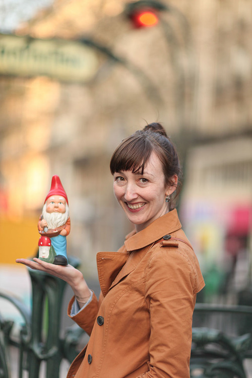 I have a thing for gnomes. Photo by Ashley Ludaescher (who I'm forever grateful for the the portraits on this site.)