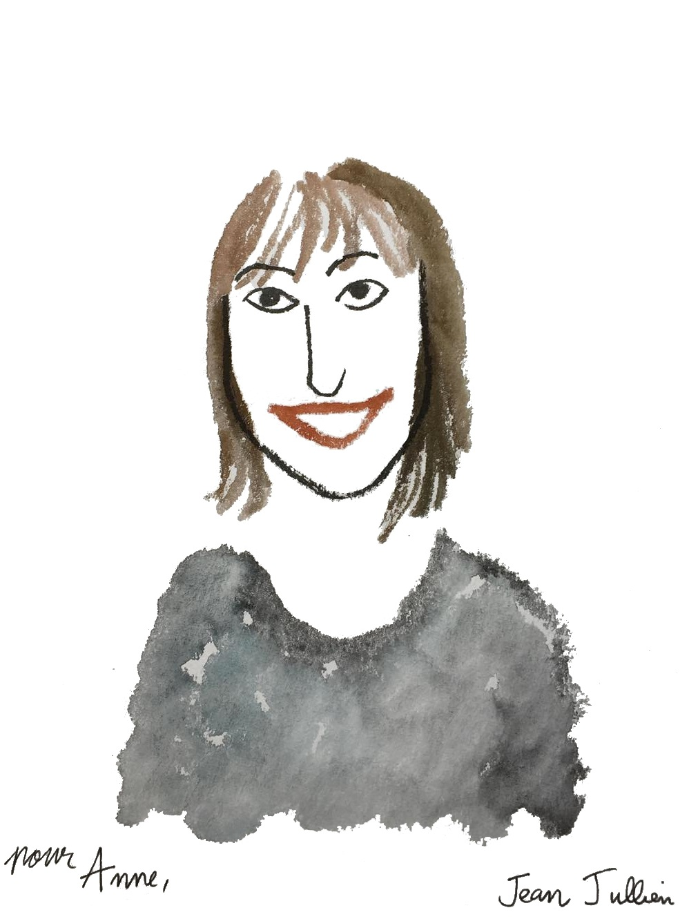 Me by French illustrator Jean Jullien.