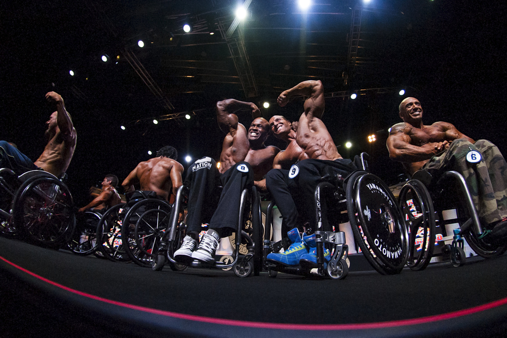 Professional Wheelchair Bodybuilding