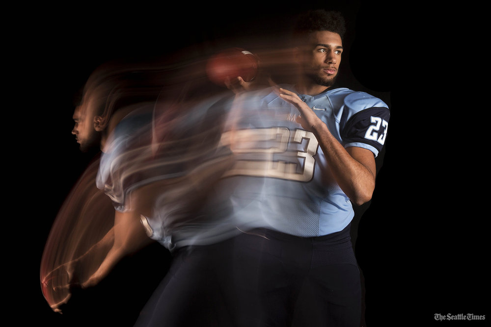 JJ Young, Quarterback, Mount Rainier High School