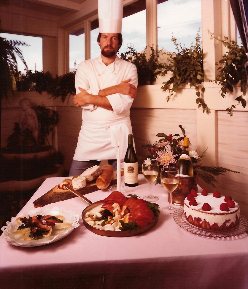 Master Chef Norbert, circa 1987.