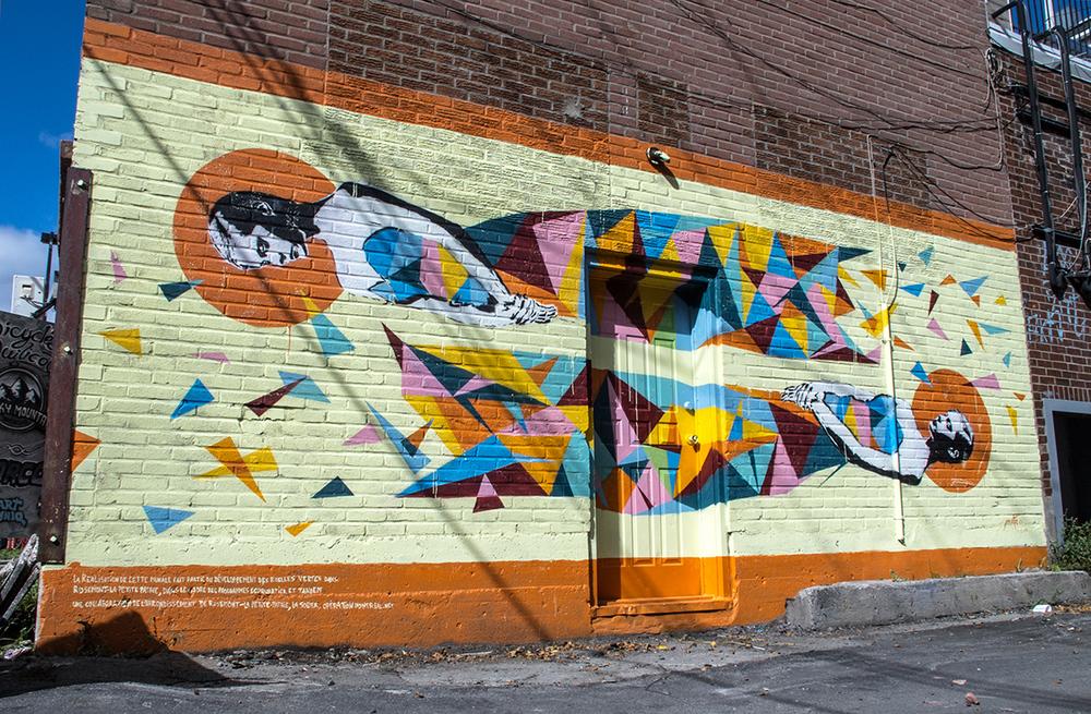 CONFLICT  Saint-Zotique &Esplanade, Montreal (CA)