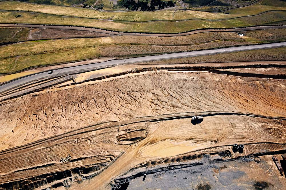 Aerial Photography Kennecott Mining