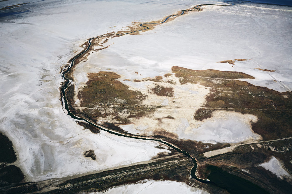 Aerial Photography Derek Israelsen Salty Weirdness