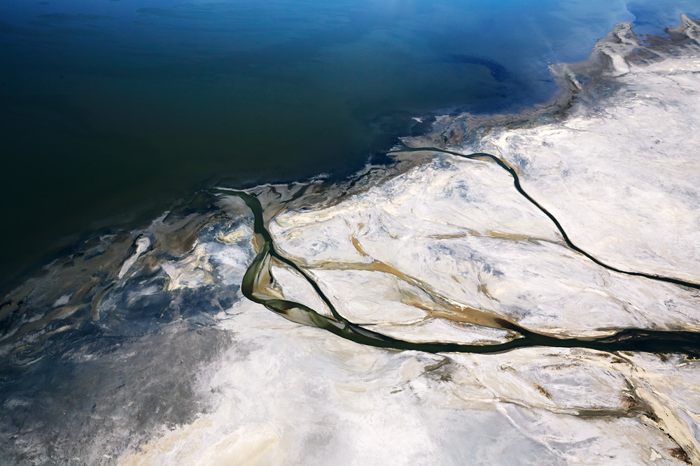 Aerial Photography Derek Israelsen Salt Flats Great Salt Lake