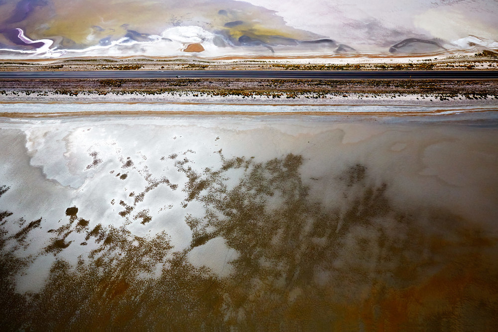 Aerial Photography Derek Israelsen Salt Flats Road