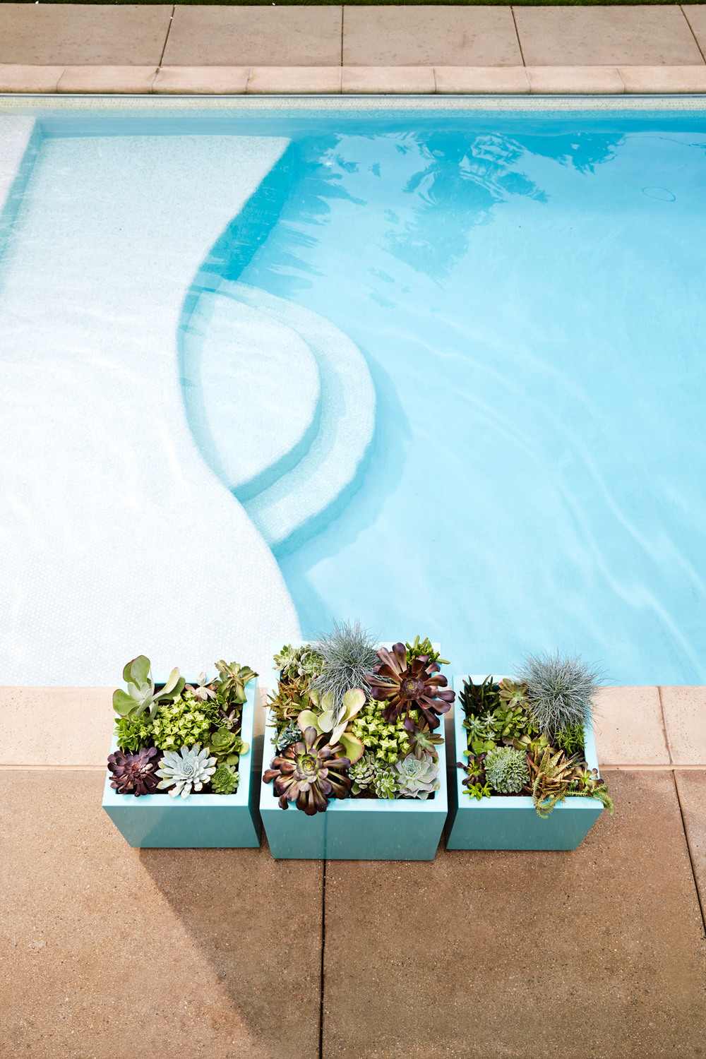 Lifestyle photography Derek Israelsen Poolside