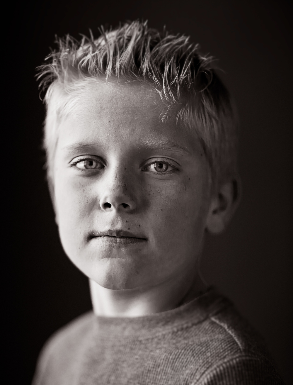 Portrait Photography Derek Israelsen Kid Headshot
