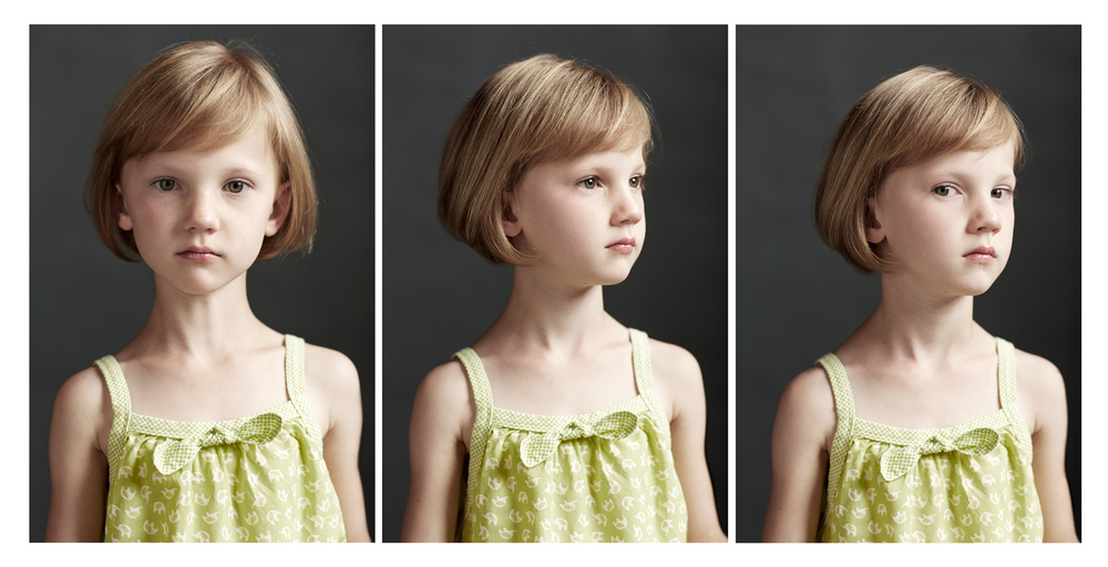 Portrait Photography Derek Israelsen Kid Triptych