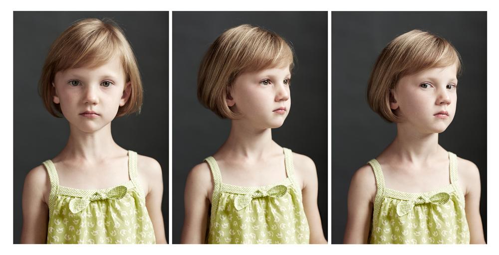 Portrait Photography Derek Israelsen Kid Triptych