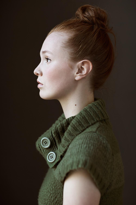 Portrait Photography Derek Israelsen Girl Side Profile