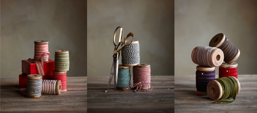 Product Photography Still Life Derek Israelsen Spools Ribbon