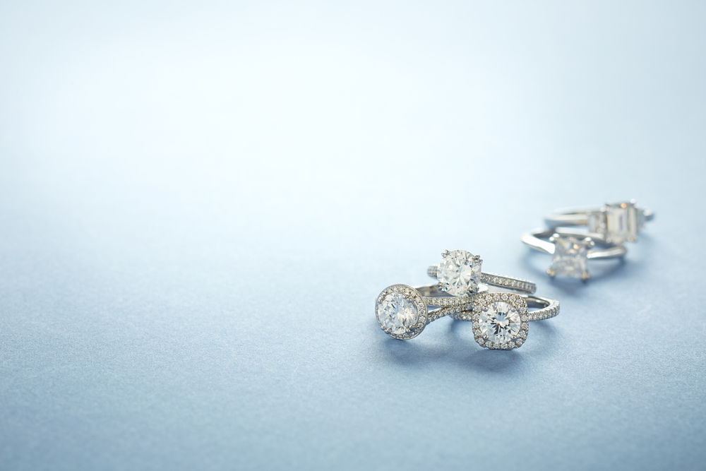 Product photography Jewelry Mix Diamond Rings