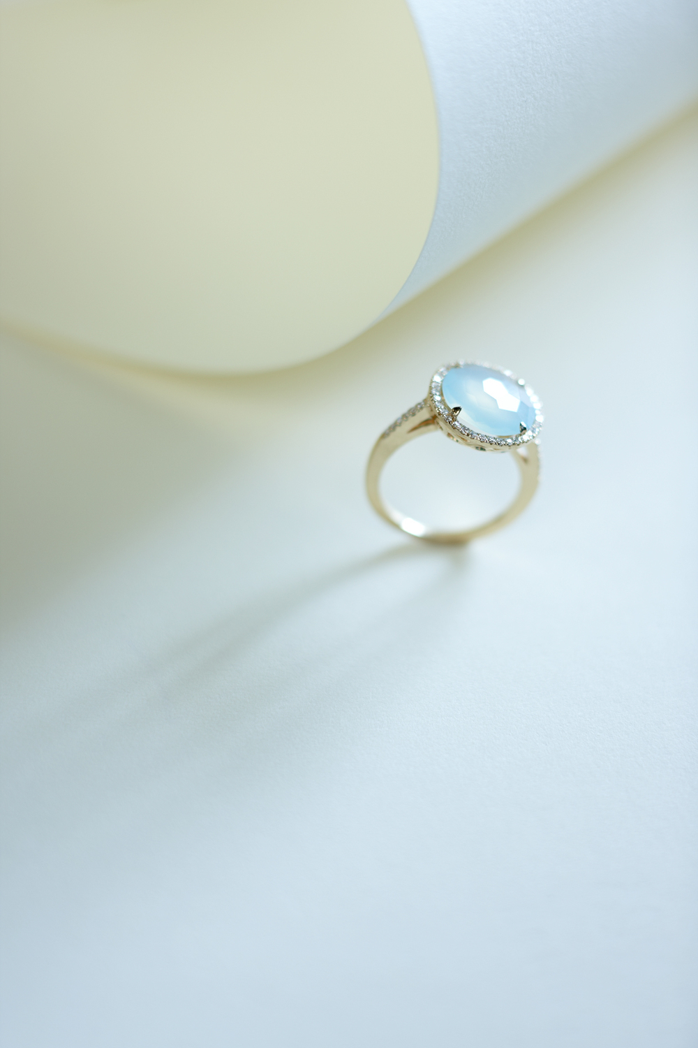 Product photography Jewelry Derek Israelsen Aquamarine Ring
