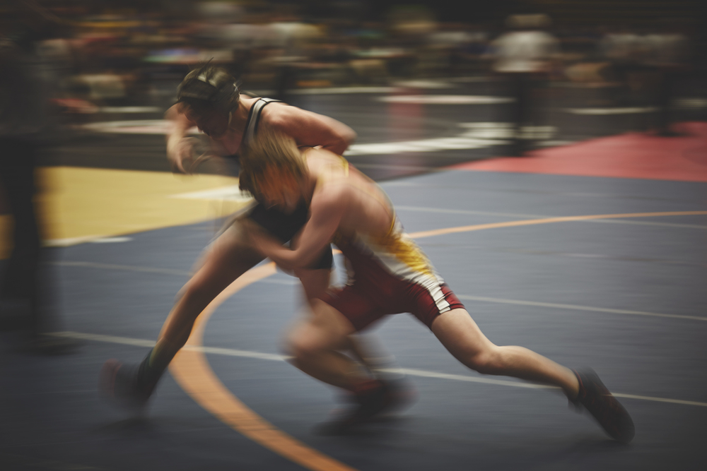 Action Photography Derek Israelsen 007 Wrestlers High School