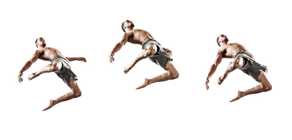 Ririe-Woodbury Derek Israelsen 018 Male Dancer Triptych NoFloor