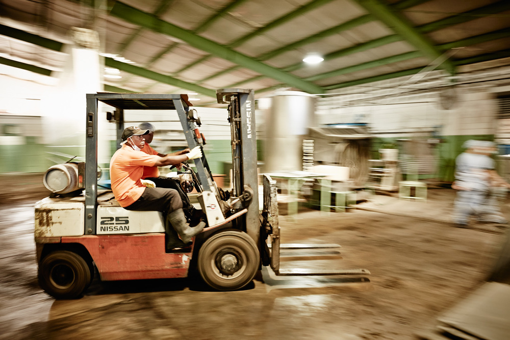 Travel Photography Dominican Republic Derek Israelsen Forklift