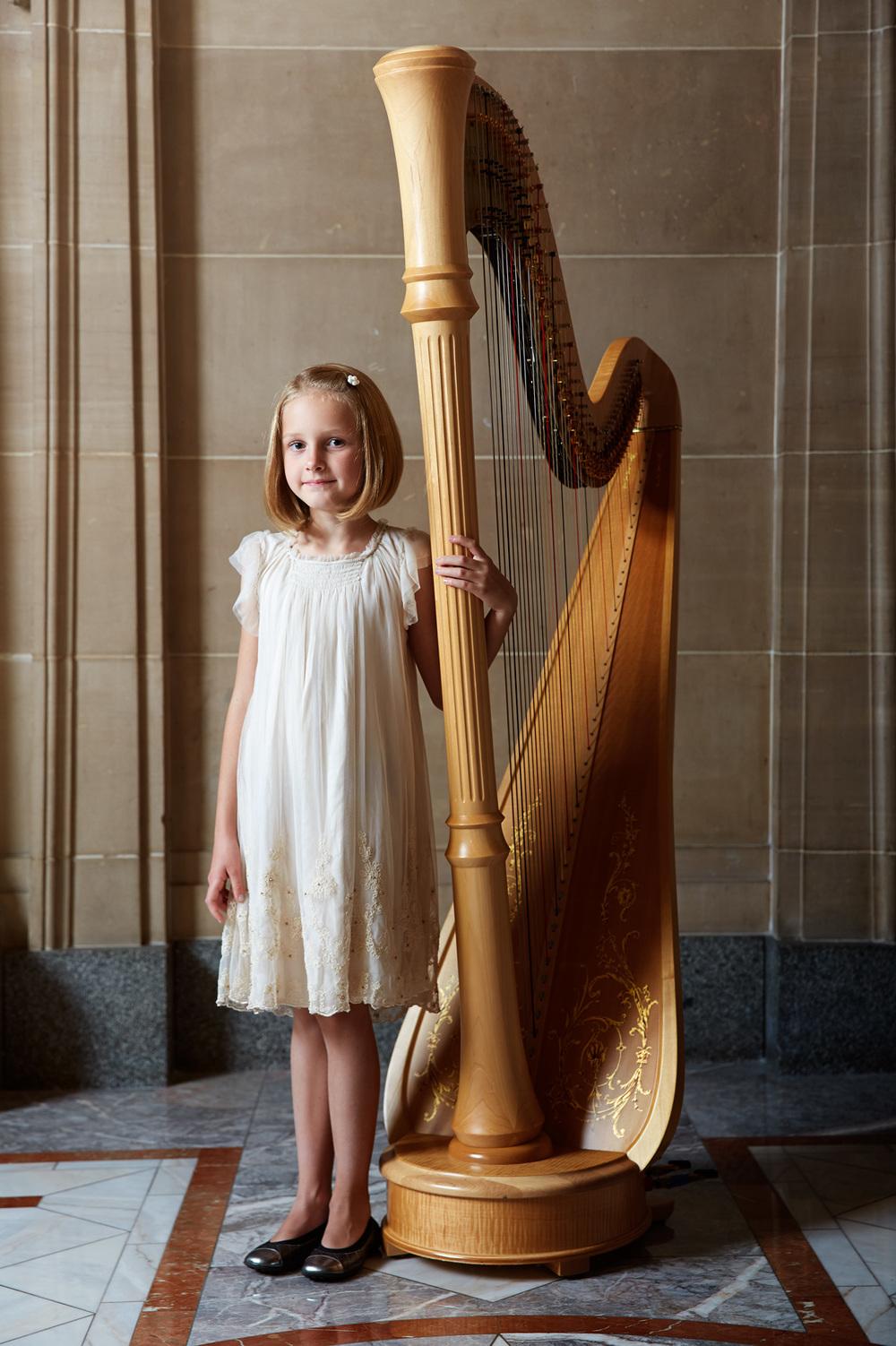 Portrait Photography Derek Israelsen Kid Harp