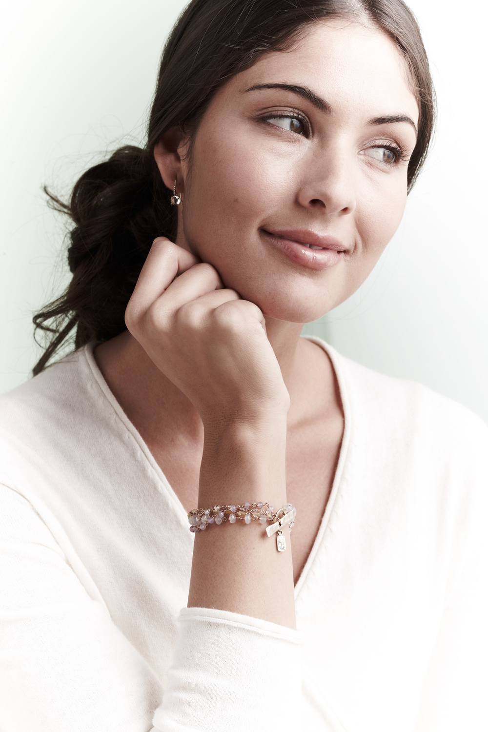 Product photography Jewelry Derek Israelsen Bracelet Earring Set