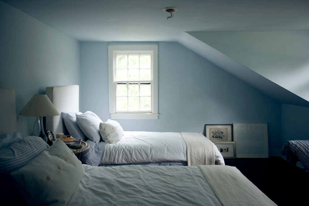 Product Photography Spaces Derek Israelsen Blue Bedroom