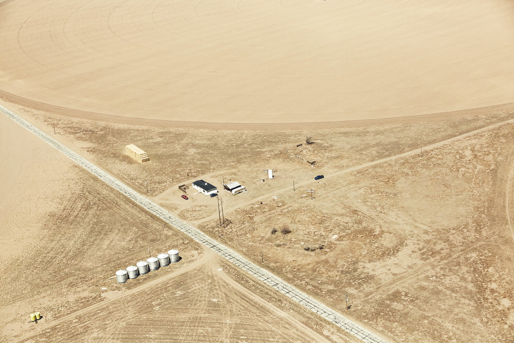 Aerial Photography Derek Israelsen Intersection of Farms