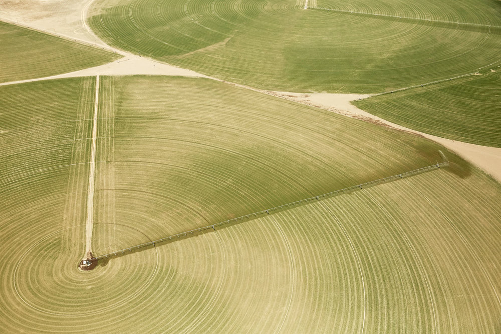 Aerial Photography Derek Israelsen Green Crop Circles