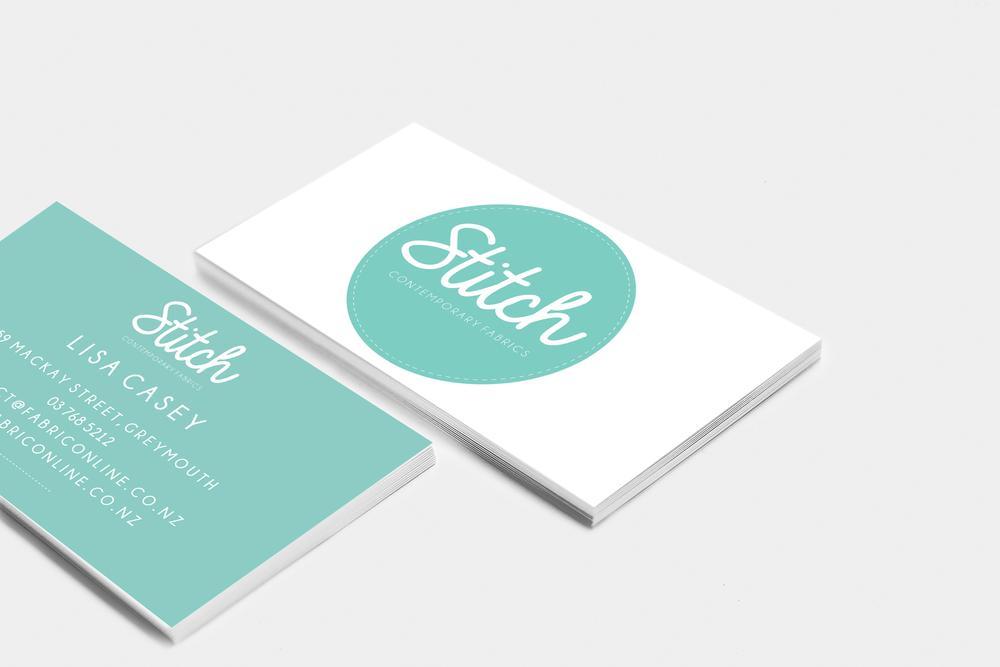 Stitch Business Card Design