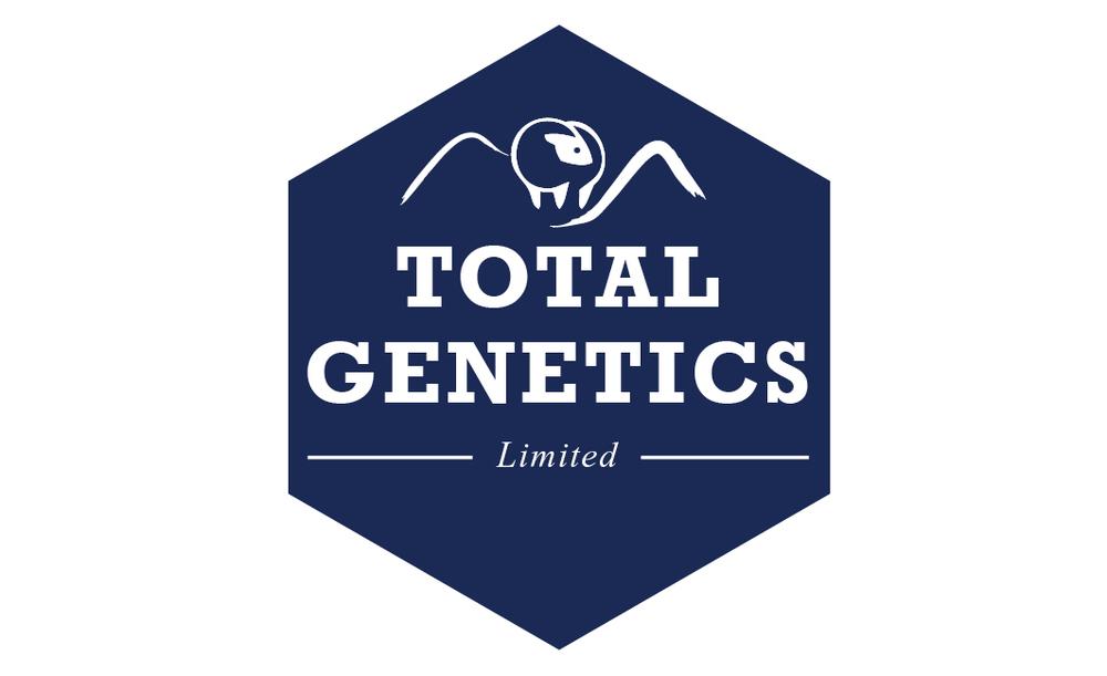 Total Genetics Logo Design