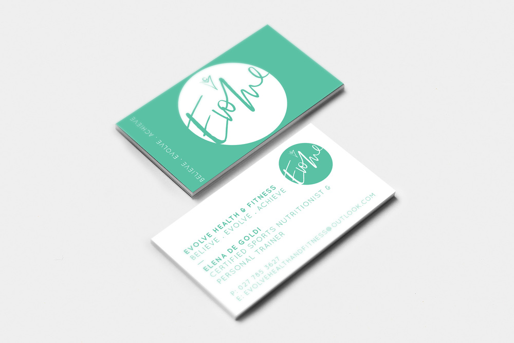 Evolve Business Card Design