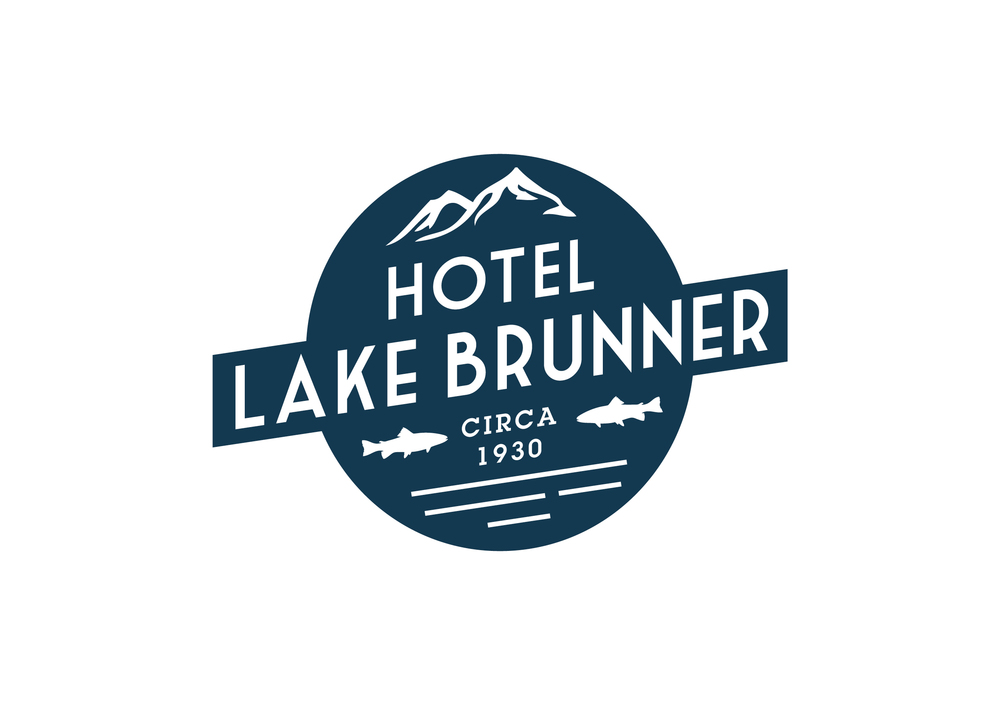 Hotel Lake Brunner Logo Design