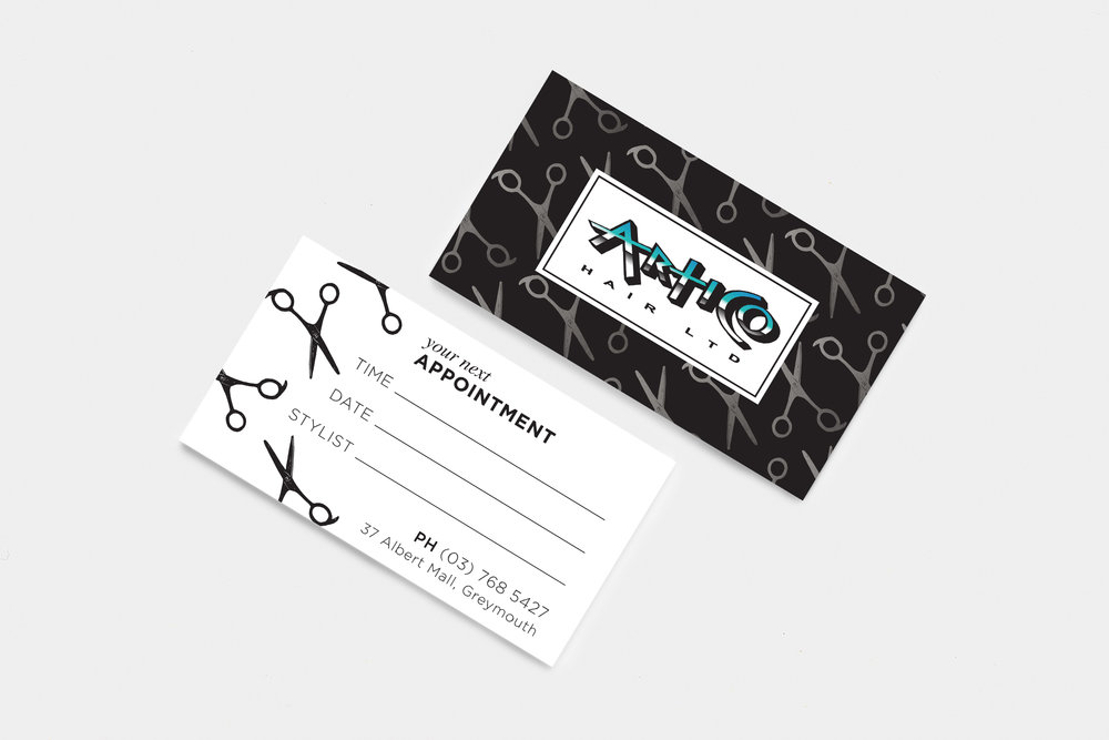 Artico Appointment Card
