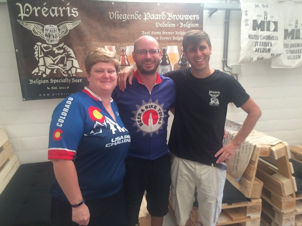 Prearis Brewery with Brewmaster Andy