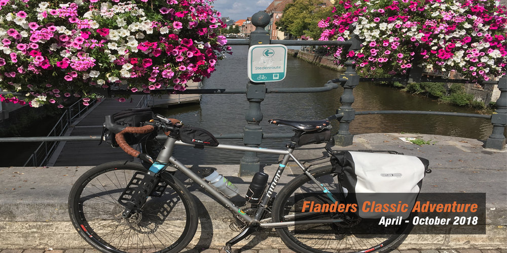 Mechelen on the Flanders Classic route