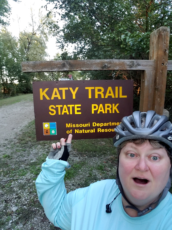 Katy Trail with Megan