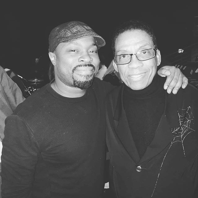 #unreal. unreal. I got to meet my idol. My piano God... and I got to play for him also! #herbiehancock  Thank you @liljohnroberts  for recommending me to another philly legend, @chrmcbride to be apart of this event honoring my hero and music idol, @herbiehancockofficial  Thank you @chrmcbride for having me! A night i'll always remember. 📸@aalyahduncan
