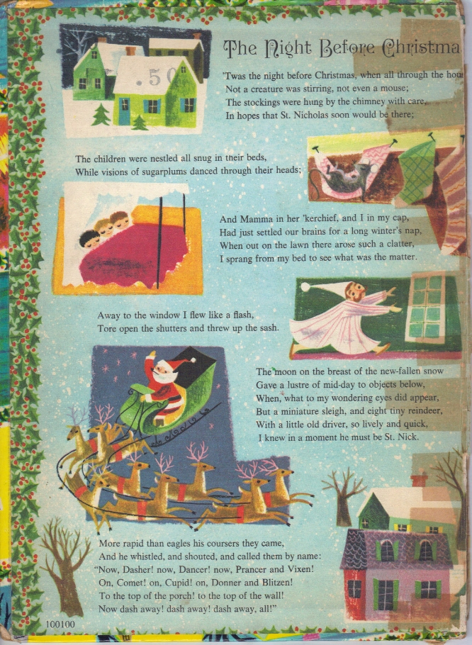 My favorite book:  Favorite Christmas Songs and Stories.