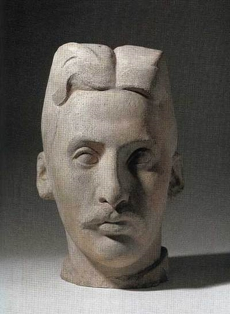 head of frank burty haviland by manolo hugue