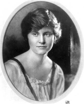 Hadley Richardson, ca. 1920.