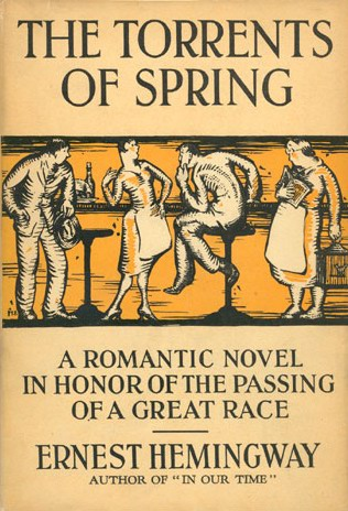 The torrents of spring first edition cover.jpg