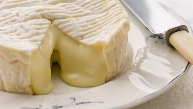 A Camembert  à point  (perfectly ready to eat).