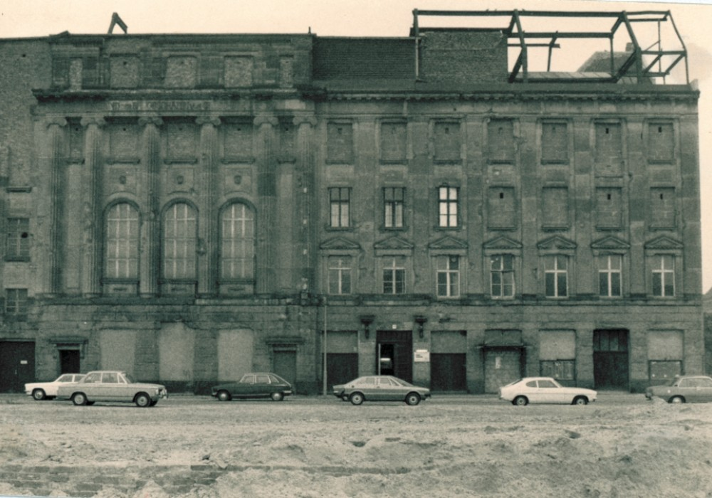 Hansa Studios in West Berlin during the time of the Wall.