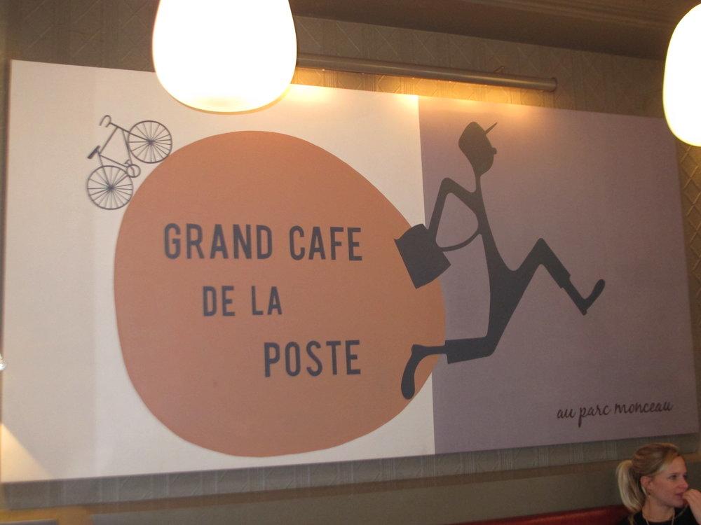 Grand Café de la Poste.  Photo: Elizabeth Kemble