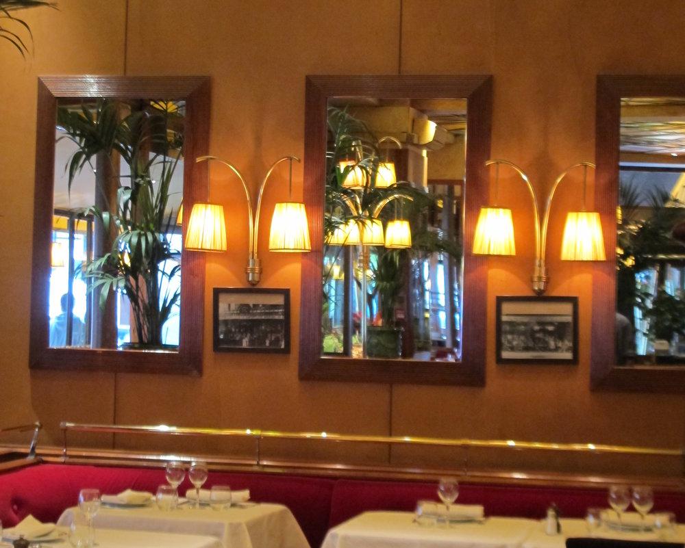 Brasserie Zeyer,  Paris. Photo: Elizabeth Kemble