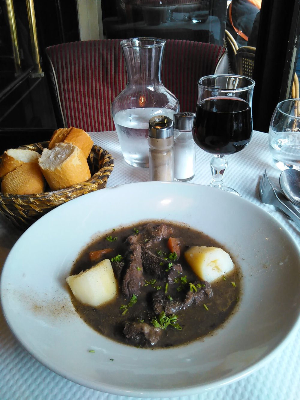 Boeuf Bourguignon.  Photo: Elizabeth Kemble.