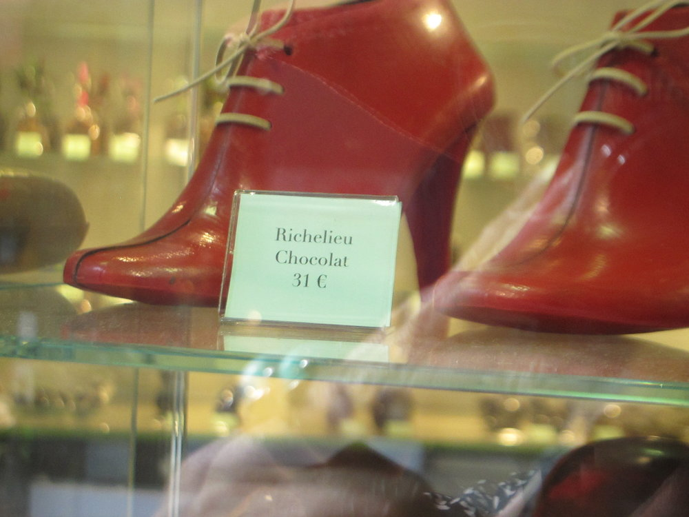Richelieu Chocolat, these shoes were made for eating. Photo: Elizabeth Kemble.