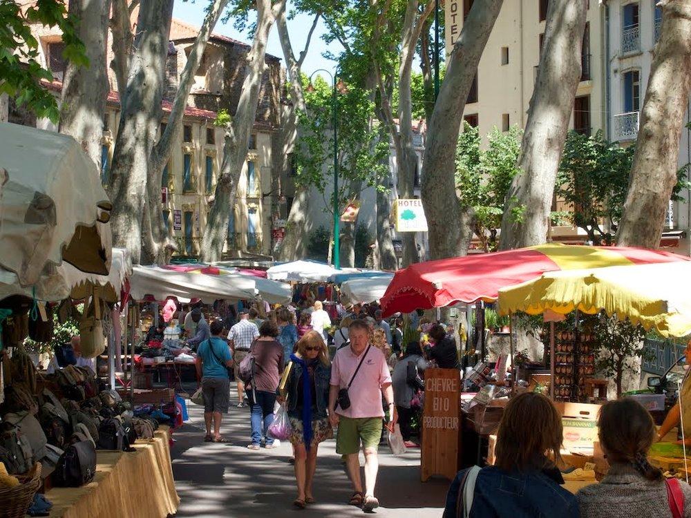 Market day, Céret.