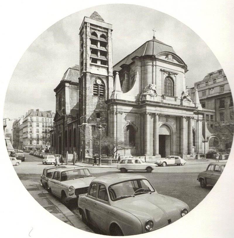 St. Nicolas du Chardonnet, Paris