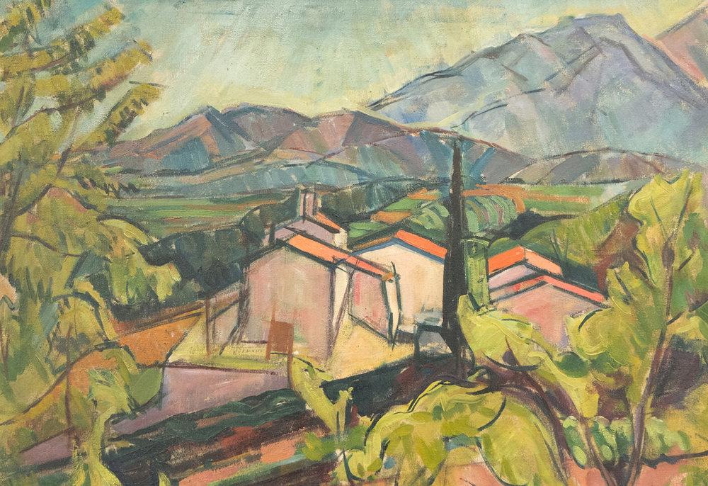 Le Couvent des Capucins , André Masson 1919-1920.