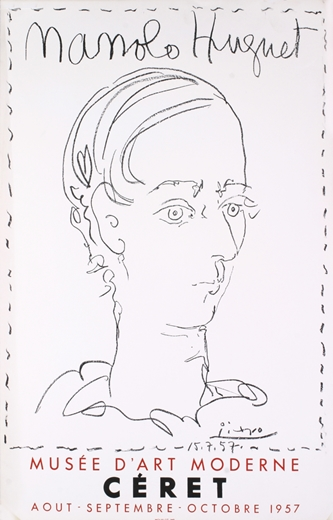 w333 manolo huguet by Picasso musee d'art modernde ceret poster 1957.jpg